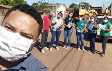 Campanha Cidade Limpa, Povo Consciente! Secretaria de Meio Ambiente junto a Secretaria de Infra Estrutura